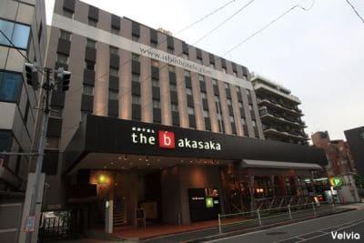 赤坂で出張マッサージを呼べるホテル「ホテル ザ・ビー 東京 赤坂」