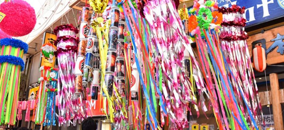 阿佐ヶ谷七夕祭りの写真