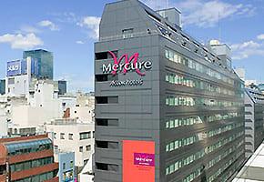 銀座周辺の出張可能なホテル「メルキュールホテル銀座東京」