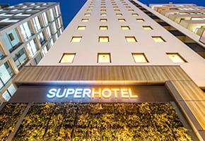 浜松町で出張マッサージを呼べるホテル「スーパーホテル東京・浜松町」