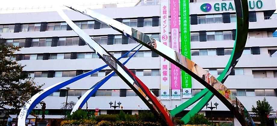 蒲田駅前の写真
