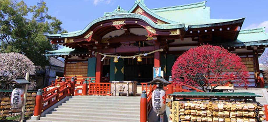亀戸天神社の写真