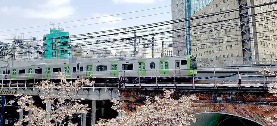 神田万世橋の風景写真