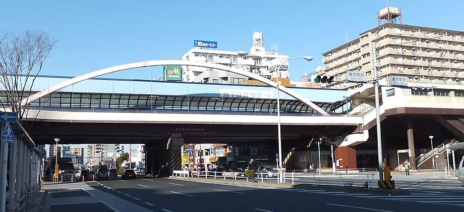 葛西駅前の写真