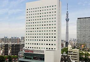 錦糸町で出張マッサージを呼べるホテル「ロッテシティホテル錦糸町」
