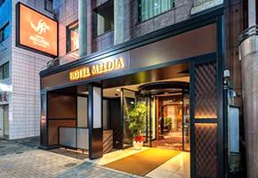 荻窪で出張マッサージを呼べるホテル「ホテルメルディア 荻窪」
