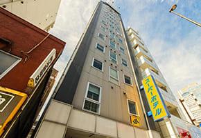 御徒町で出張マッサージを呼べるホテル「スーパーホテル上野・御徒町」