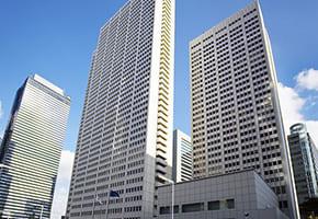 新宿で出張マッサージを呼べるホテル「京王プラザホテル」