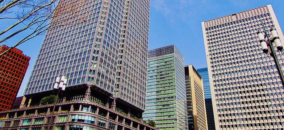 東京駅丸の内口の風景写真