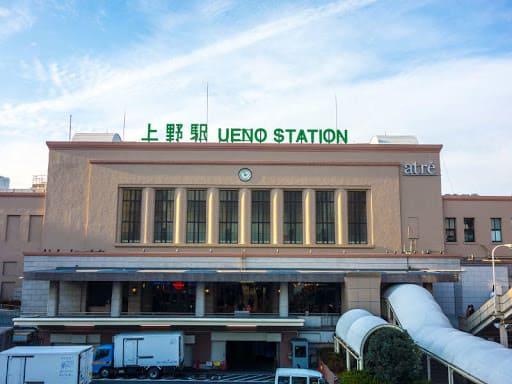上野駅の写真